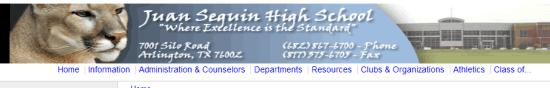Juan Seguin High School, Arlington, TX