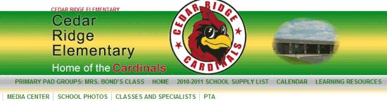 Cedar Ridge Elementary, Columbia MO