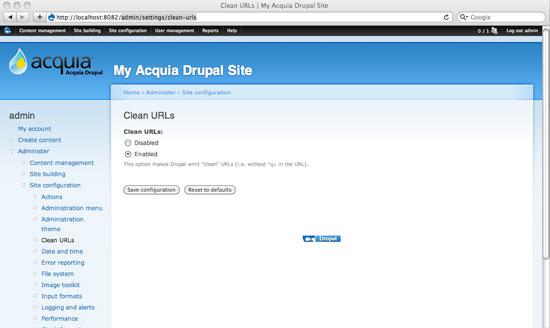 Always Set Up Clean URLs