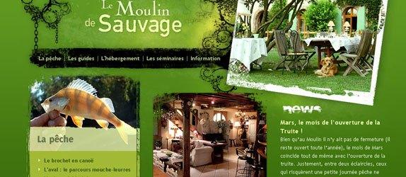 Le Moulin de Sauvage - http://www.le-moulin-de-sauvage.com/