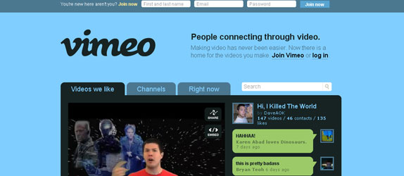 Vimeo - http://www.vimeo.com/