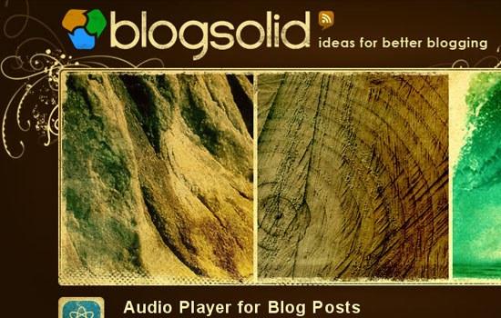 Blogsolid - Screenshot