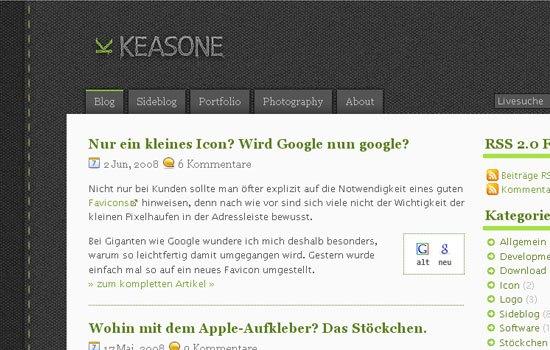 keasone.de - Screenshot