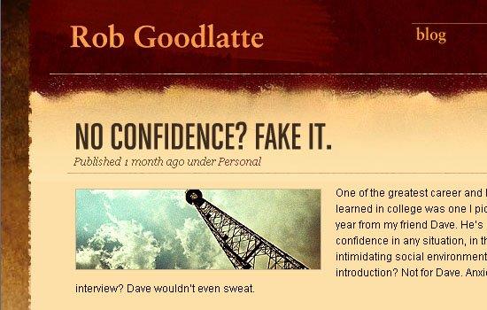 RobGoodlatte.com - Screenshot