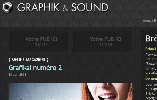 Graphik'n'Sound - Screenshot