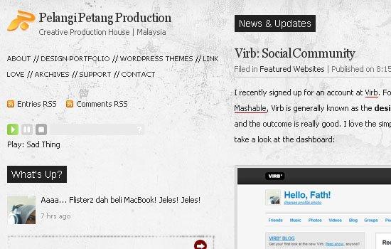Pelangi Petang Production - Screenshot