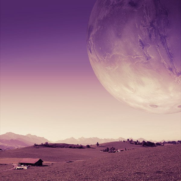 Change the color of the main planet