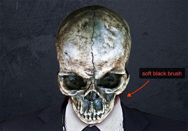 Work on the skull