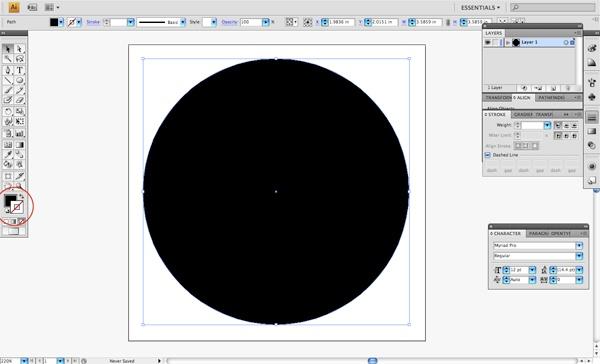 Draw a BIG Circle