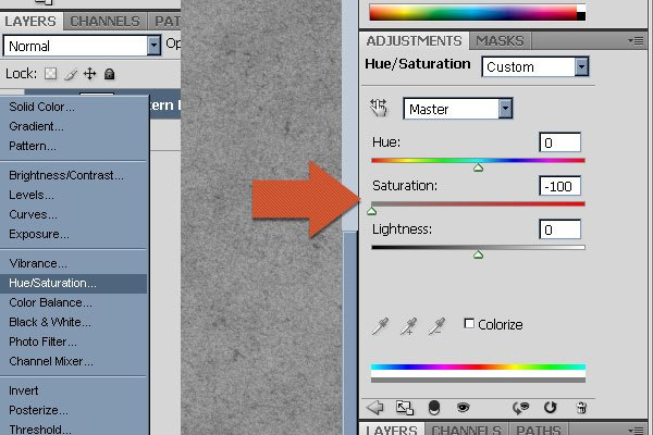 Hue/Saturation Layer