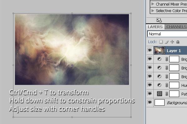 Adjust Light Texture Size