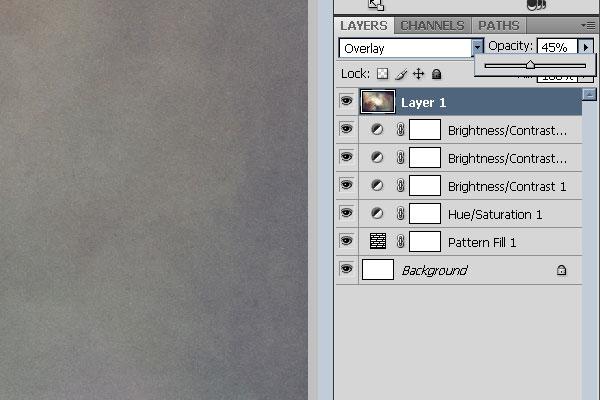 Overlay Light Texture