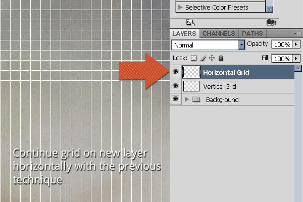 Create Horizontal Lines