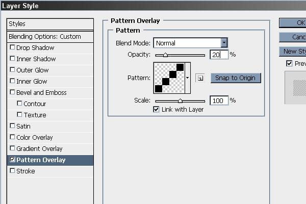 Apply the Diagonal Pattern
