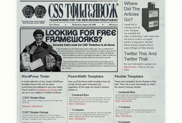 CSS Tinderbox