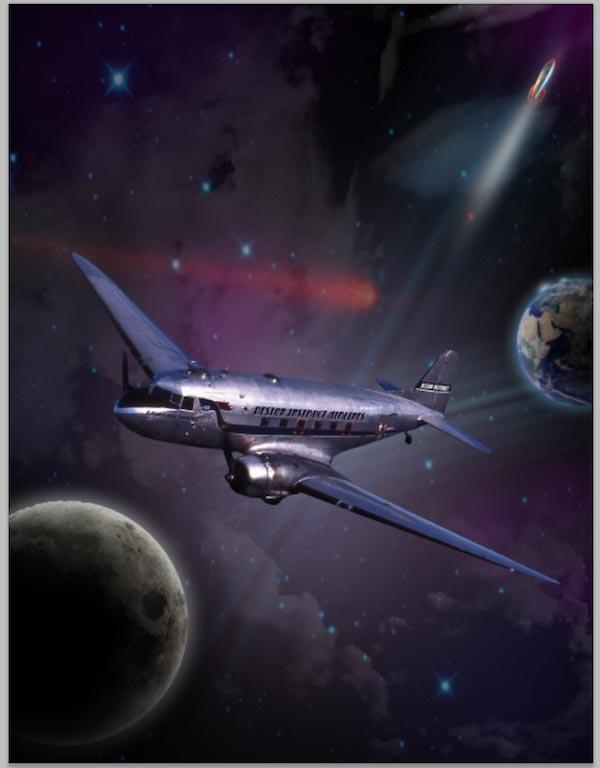 Create the Airplane's Trail