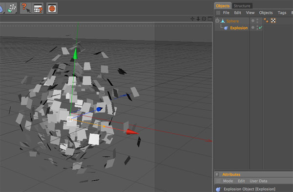 Adding Explosion Particles