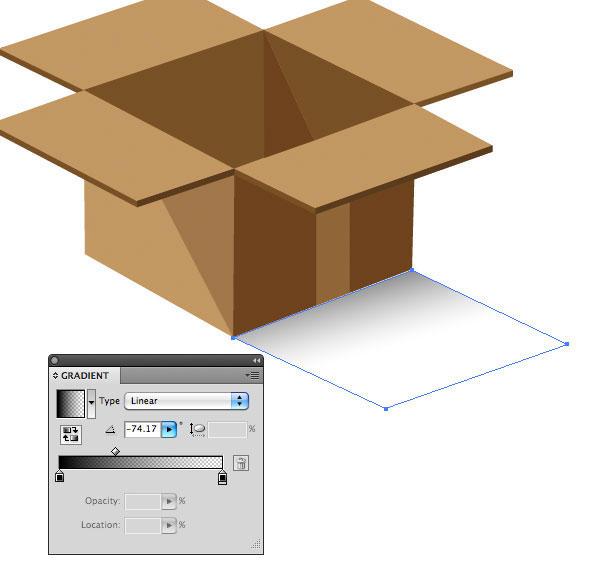 Create the Box's Shadow