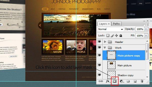 "Create the ""Featured Work"" Area"