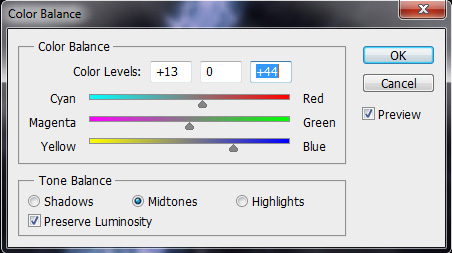 Modify the Colors of the Light Streaks