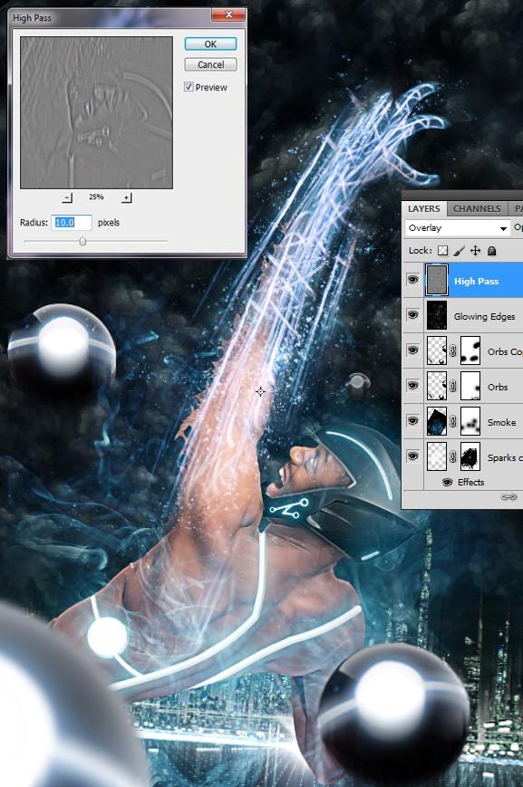 Finishing Detail - Lighting Enhancements