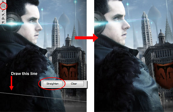 Taking Advantage of Photoshop CS5's Ruler Tool