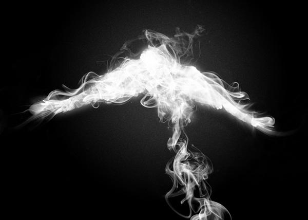 Create Smoke Inside the Bird's Body
