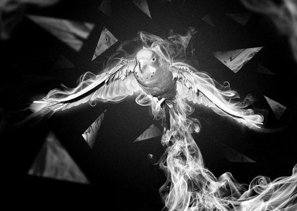 Creating Shattered Smoke Elements
