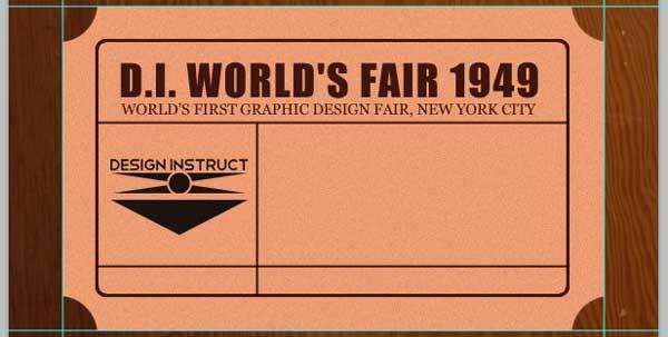 Add a Vintage-Futuristic Logo