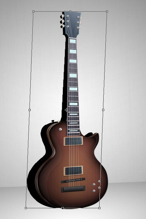 Creating a Realistic Guitar Shadow