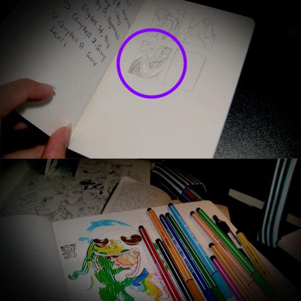 Step 2: Sketching time!