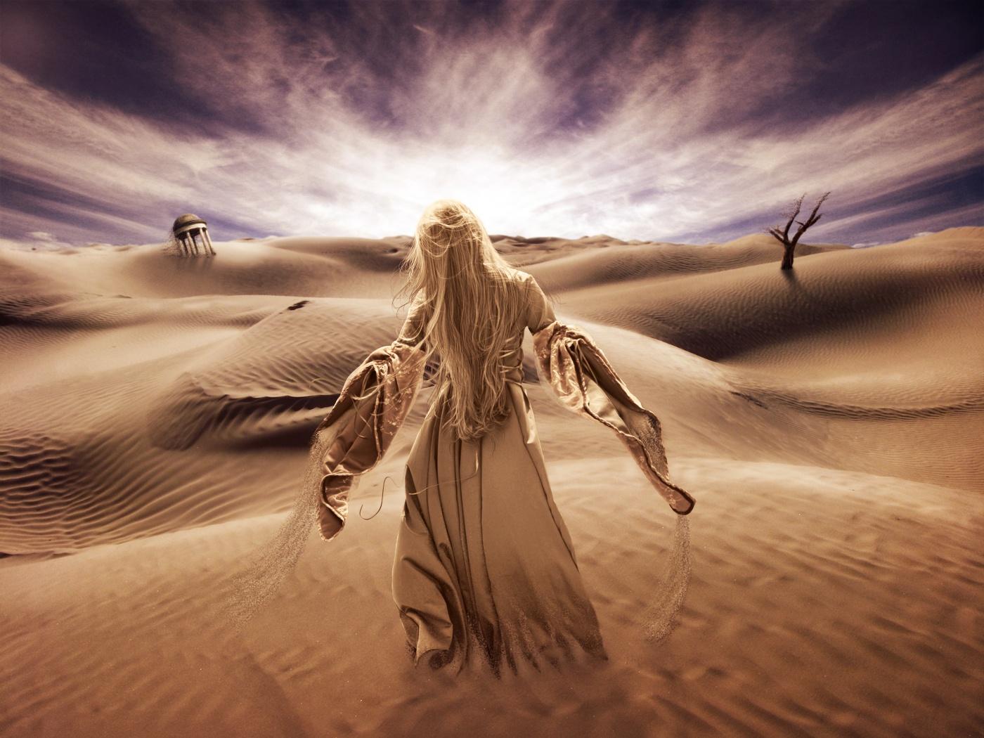 Create a Surreal Desert Scene in Photoshop