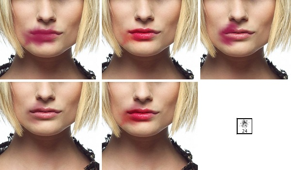 Enhance the lips