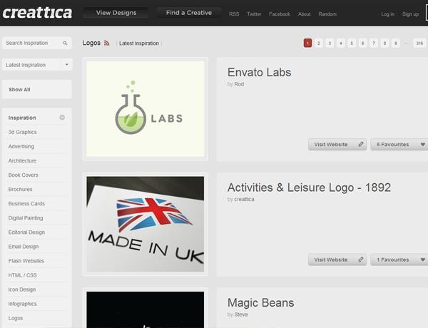 Creattica (Logos)