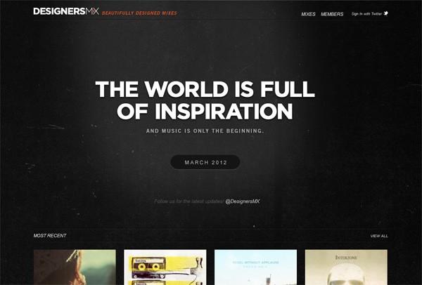 Dark Web Designs for Inspiration 06