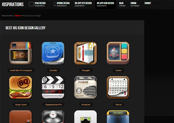iOS App Icon Designs (iOSpirations)