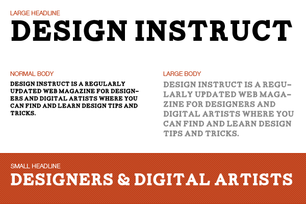 Free slab serif font: Carton