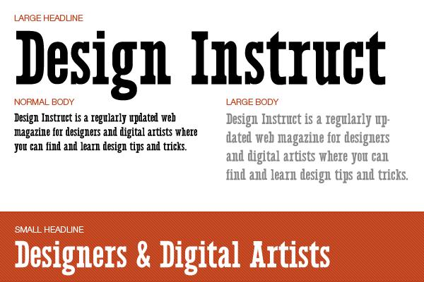 Free slab serif font: Legion Slab