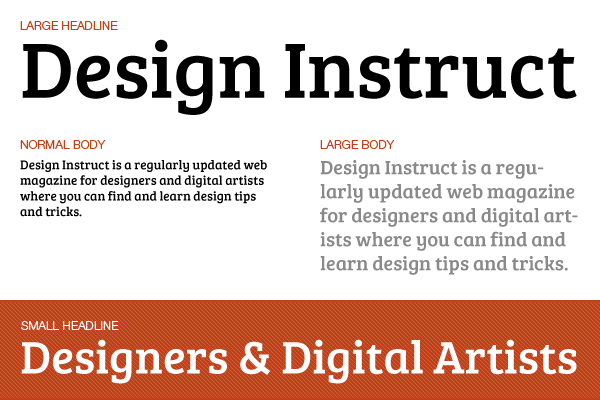 Free slab serif font: Bree Serif