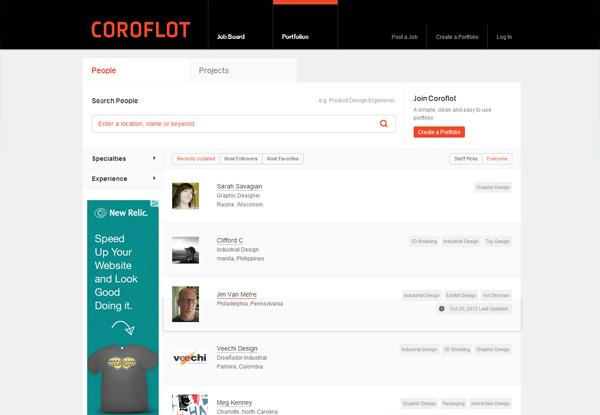 Coroflot Portfolios