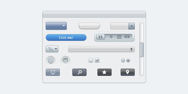 Apple Styled UI Elements
