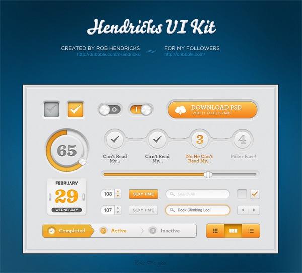 Hendricks UI Kit