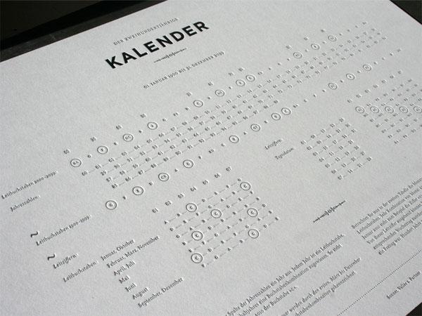 200 Year Calendar