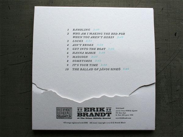 """Erik Brandt """"Sometimes"""" CD"""