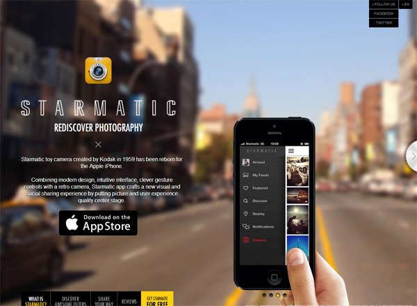 Example Of Mobile Website Design Starmatic