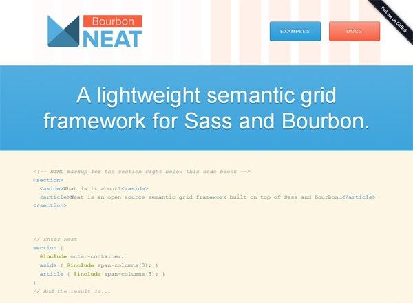 Responsive CSS grid: Neat