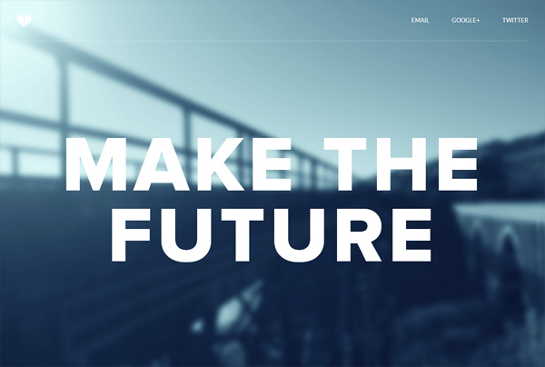 Minimalist web design example: Dickson Fong