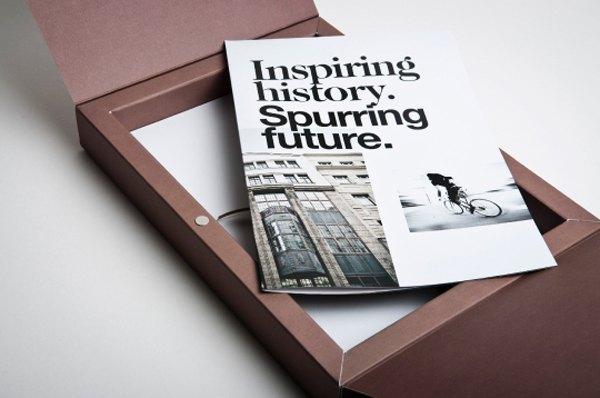 Beautiful Typography in a Print Design: Am Fleischmarkt 1 (b)