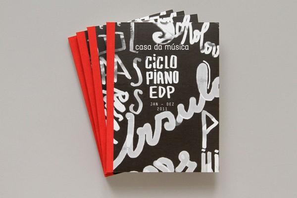 Beautiful Typography in a Print Design: Casa da Musica