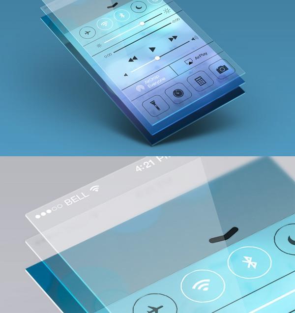New free website graphics: Perspective App Screen Mock-Up 5